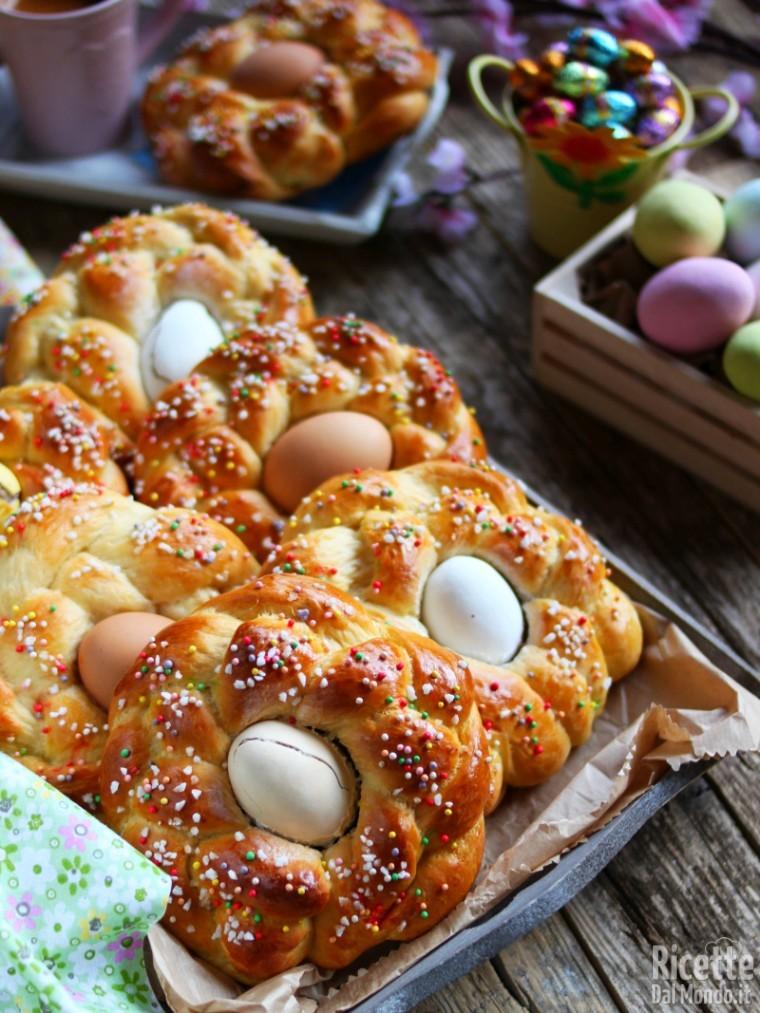 Ricetta briochine di Pasqua