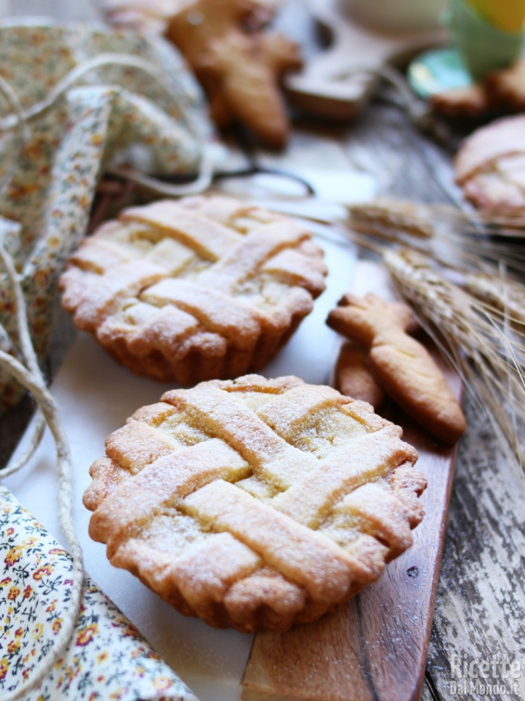 Come fare le crostatine di pastiera