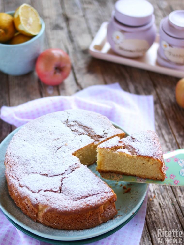 Ricetta torta di mele invisibili