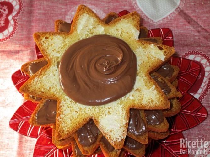 Pandoro alla Nutella 7
