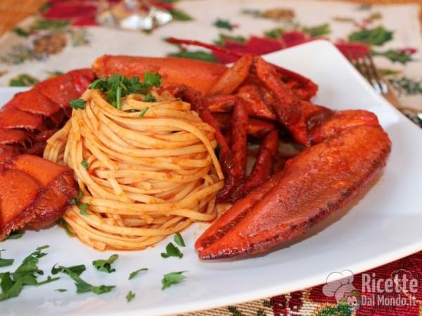 Come fare gli spaghetti all'astice