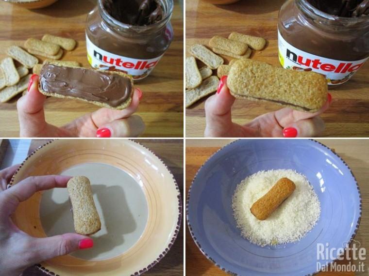 Pavesini con Nutella cocco e mascarpone 3