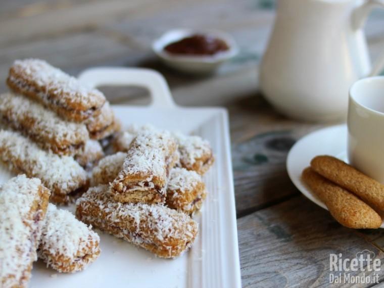 Come fare i Pavesini Nutella e cocco