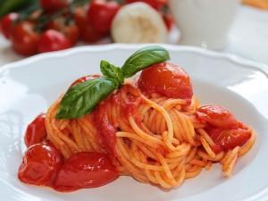Ricetta Spaghetti al Pomodoro Fresco