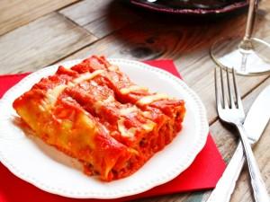 Ricetta Cannelloni di carne al forno