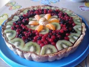 Ricetta Crostata alla Frutta Bimby