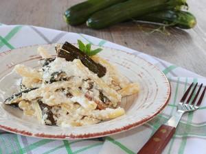 Ricetta Caserecce con Zucchine e Ricotta