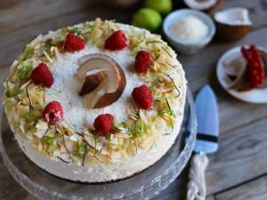 Ricetta Cheesecake al cocco