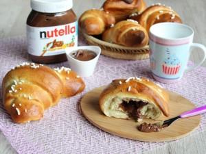 Ricetta Cornetti di Pasta Brioche alla Nutella