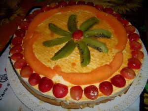Ricetta Cheesecake al Melone con i Waffles