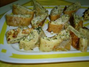 Ricetta Rotolo di Crepes alle Zucchine