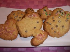 Ricetta Biscotti al Burro Decorati