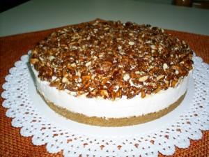 Ricetta Cheesecake al Croccantino di Mandorle