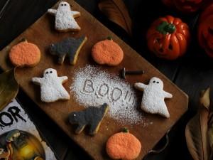 Ricetta Biscotti alla zucca di Halloween