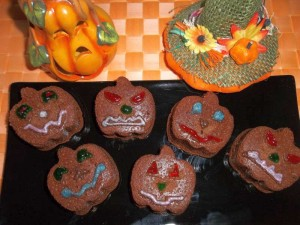 Ricetta Zucchette Mostruose di Halloween