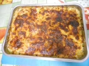 Ricetta Teglia di Patate e Cavolfiore