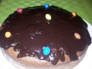 Ricetta Torta Soffice con Arachidi e Cioccolato