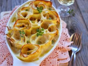 Ricetta Girelle di lasagne al salmone