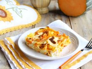 Ricetta Lasagne alla Zucca Vegetariane