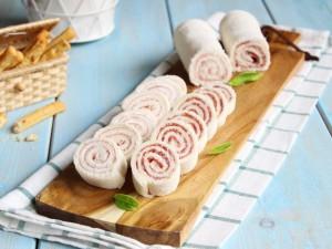 Ricetta Girelle fredde con Prosciutto e Salame