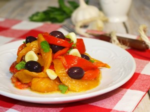 Ricetta Peperoni Arrostiti