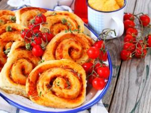 Ricetta Girelle di pan mozzarella