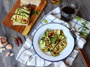 Ricetta Zucchine marinate