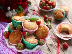 Ricetta Muffin alle Fragole