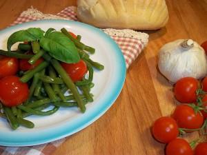 Ricetta Fagiolini con i Pomodorini