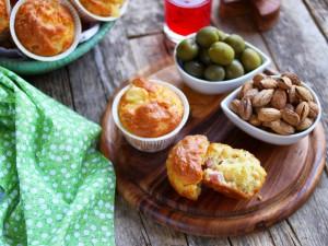 Ricetta Muffin Prosciutto e Formaggio
