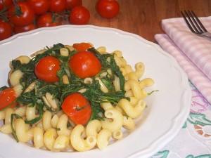 Ricetta Pasta con Pomodorini e Rucola