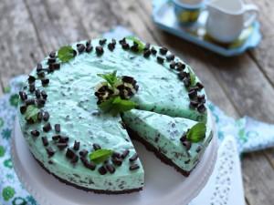 Ricetta Cheesecake alla Menta