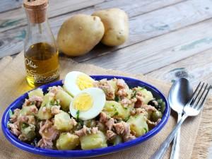 Ricetta Insalata di patate e tonno
