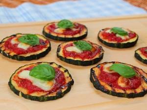 Ricetta Pizzette di Zucchine Grigliate