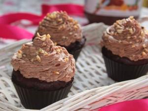Ricetta Cupcakes al Cioccolato con frosting di Nutella e Mascarpone