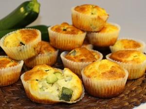 Ricetta Muffin Ricotta e Zucchine