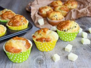 Ricetta Muffin salati ai Piselli