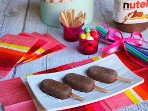 Ricetta Ghiaccioli alla Nutella