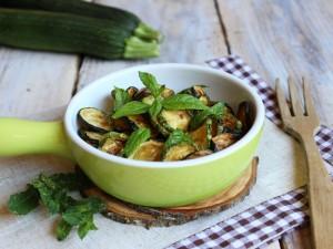 Ricetta Zucchine alla menta