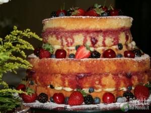 Ricetta Come fare una Naked Cake