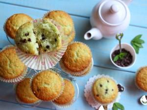 Ricetta Muffin Menta e gocce di Cioccolato