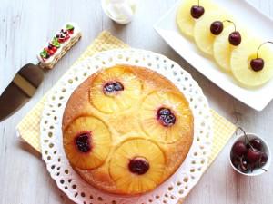 Ricetta Torta rovesciata all'Ananas