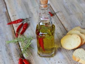 Ricetta Olio piccante al peperoncino