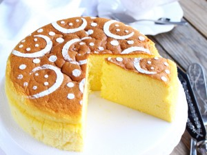 Cotton soft cheesecake