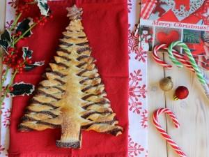 Ricetta Albero di Natale di Pasta Sfoglia