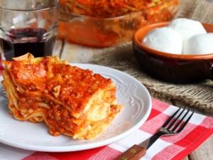 Ricetta Lasagne ricce con mozzarella di bufala