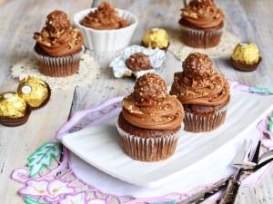 Ricetta Cupcakes Ferrero Rocher