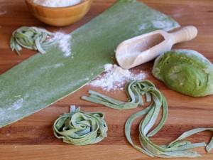 Ricetta Pasta verde fatta in casa