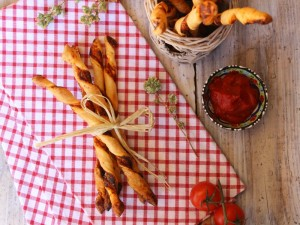Ricetta Grissini veloci di Pasta Sfoglia