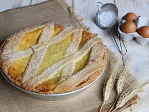 Ricetta Pastiera napoletana con crema pasticcera